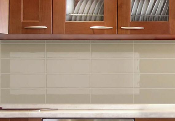 Glass vs ceramic tile splashbacks