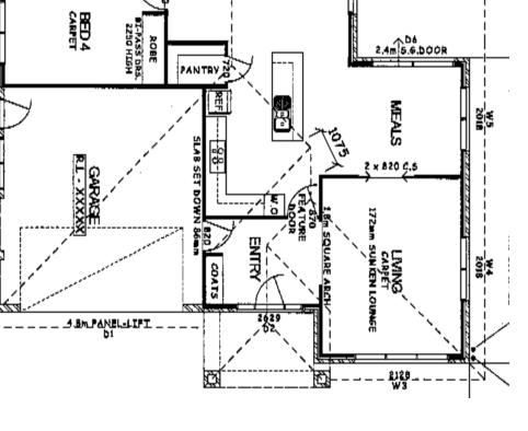 Height of overhead cupboards if ceiling height is 2.7