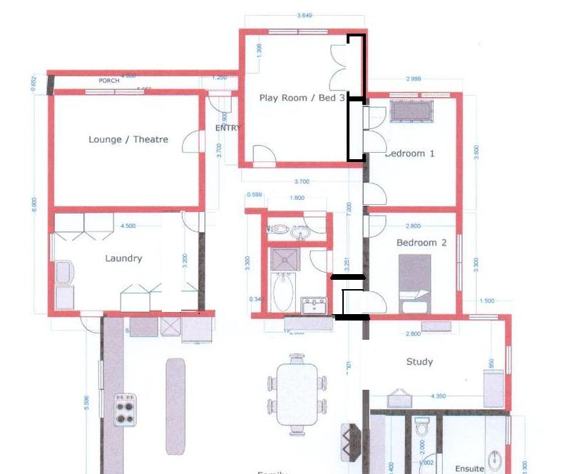 Suggestions for house extension please - plans included