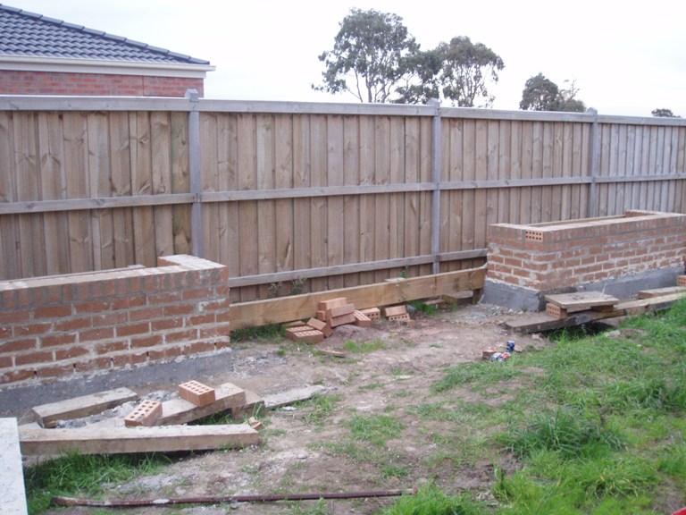 Rendered garden beds