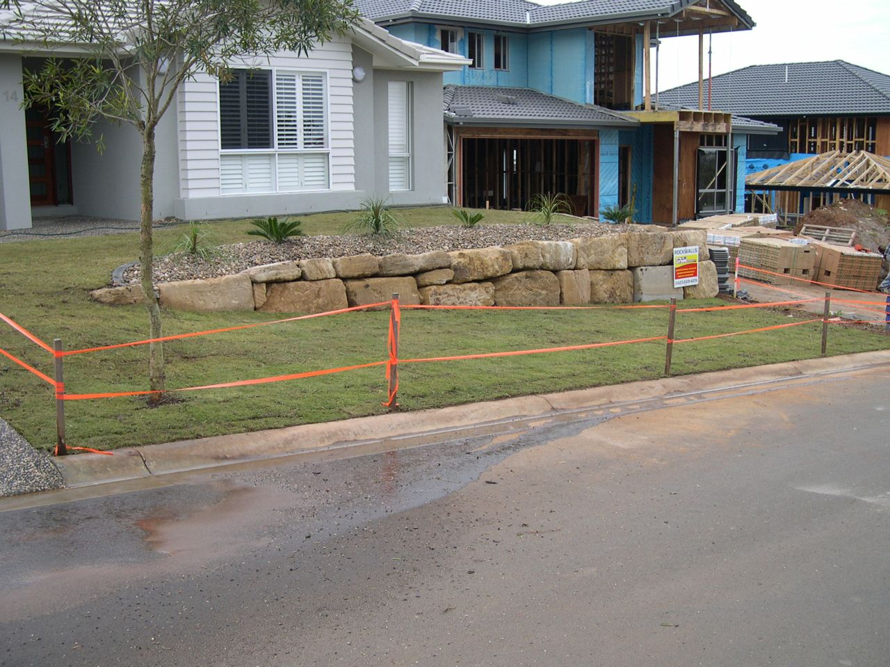 Another retaining wall Question
