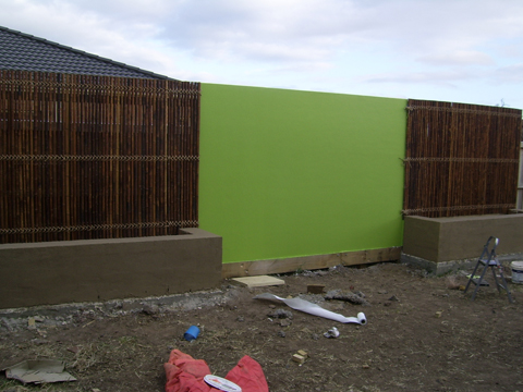 Outdoor Colour for patio area