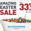 Read Article: Amazing Easter Sale - Up to 33% off selected items by Bathroomware House QLD
