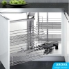 Read Article: How To Maximise Kitchen Space Utilisation - Part 1. Corner Cabinet / Magic Corner I by AROVA Hardware VIC