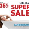 Read Article: Mid Year Super Sale - up to 35% off - EXTENDED UNTIL 1st August by Bathroomware House QLD