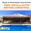 Read Article: Free Installation On All Outdoor Blinds Before Christmas! by Bozzy Shade Blinds WA