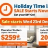 Read Article: Sale starts Wednesday 23rd December 2015 by I Seek Blinds ACT