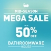 Read Article: Mid-Season Mega Sale,  Up to 50% off a wide range of beautiful bathroomware by Bathroomware House WA