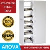 Read Article: Pull Out Pantry - Stainless Steel Trays by AROVA Hardware NSW