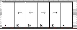 Cavity Stacker Doors