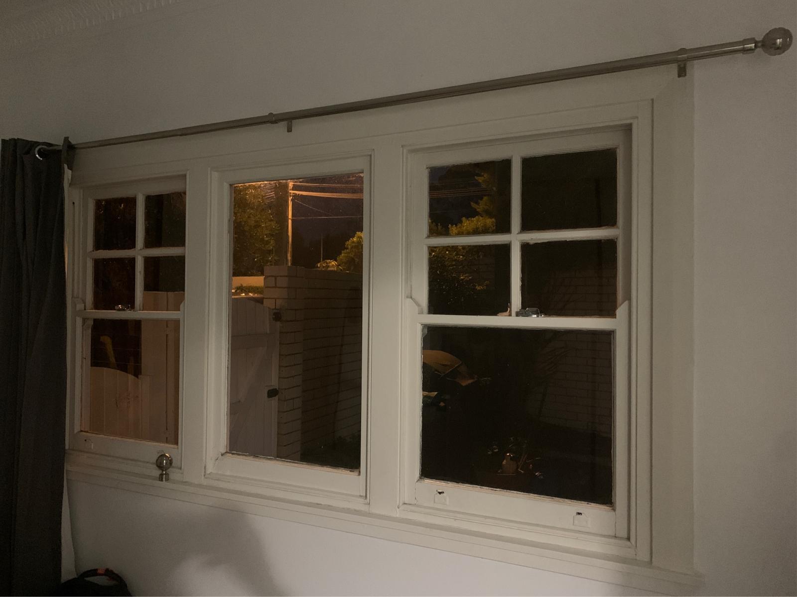 6.38 laminated glass or retrofit double glazing