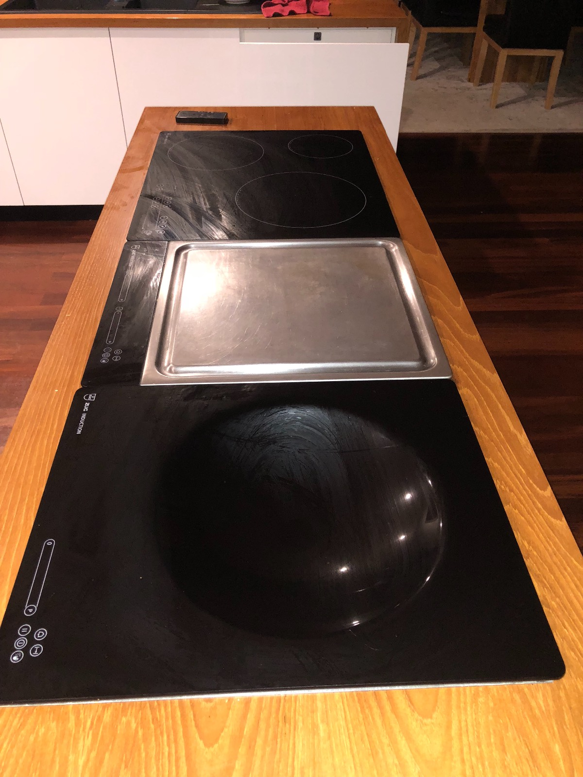 Gas or electric stove top and oven