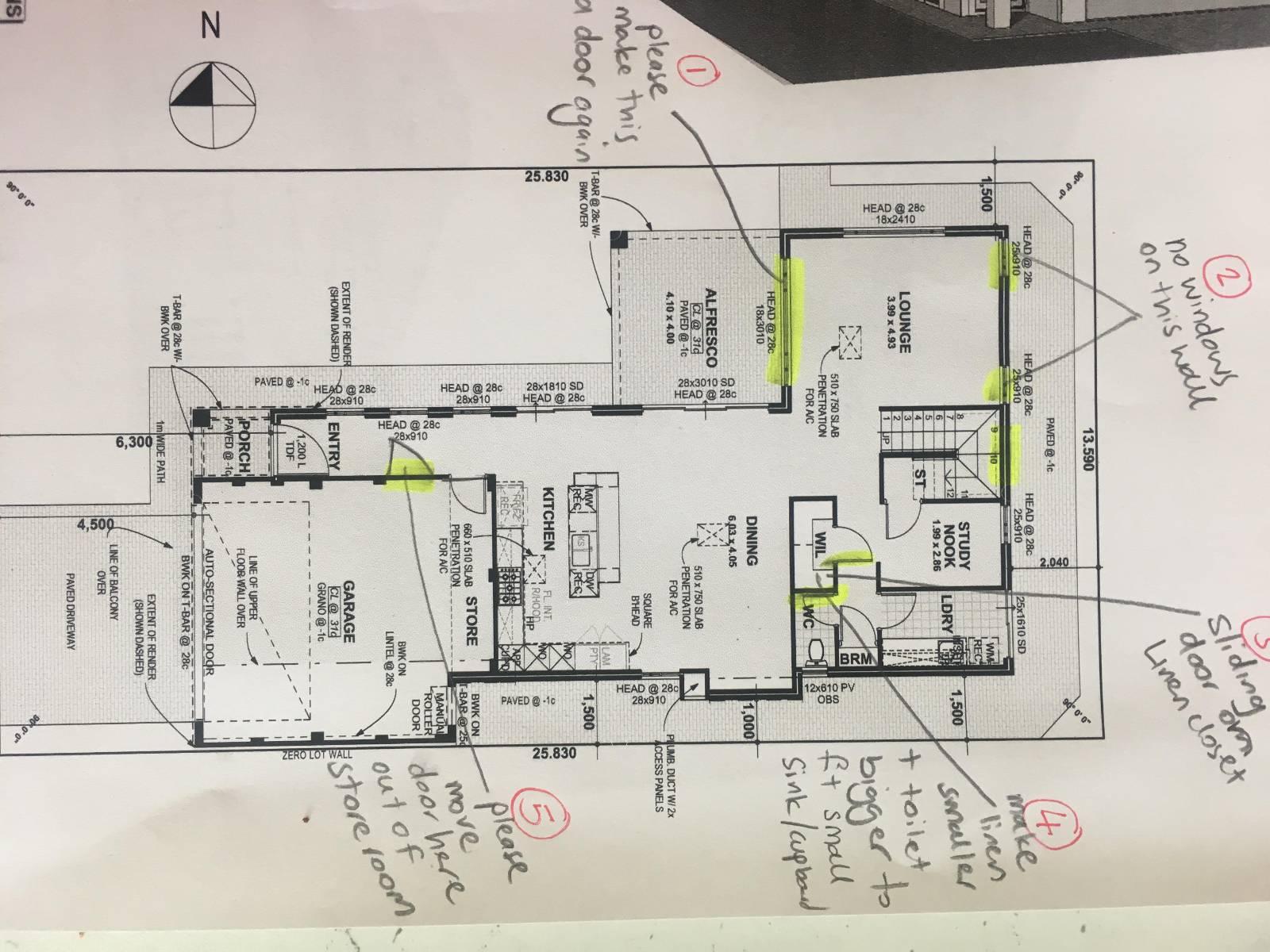 View: Seeking feedback for house design