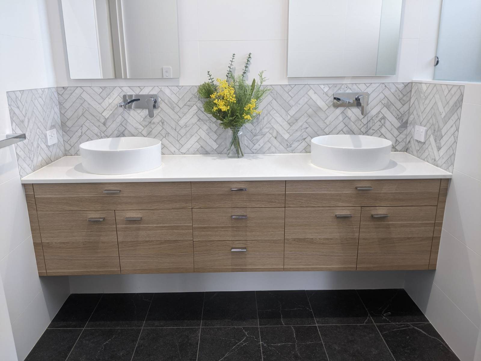 I'm short! Vanity height for a over the counter basin?