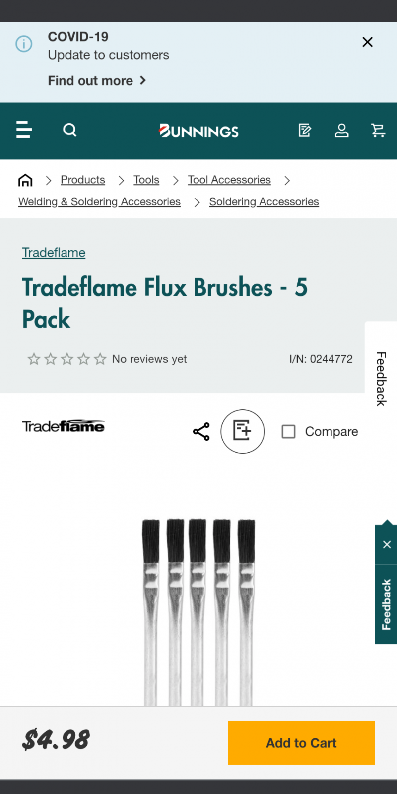 Looking for a brush with stiff bristel similar to attached