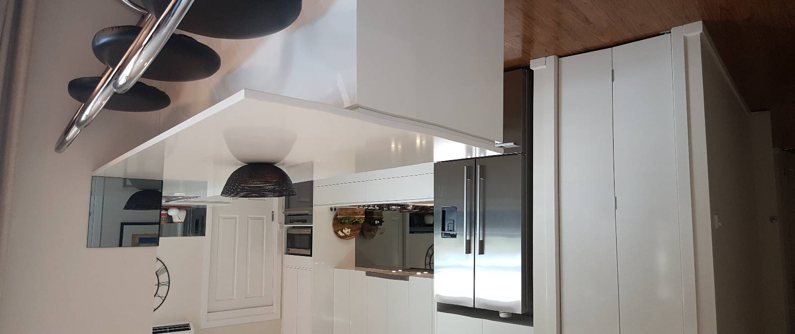 Thoughts on mirrored glass splashback