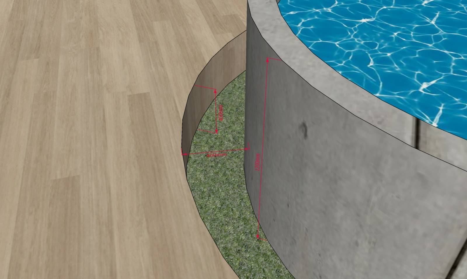 Above ground pool regs