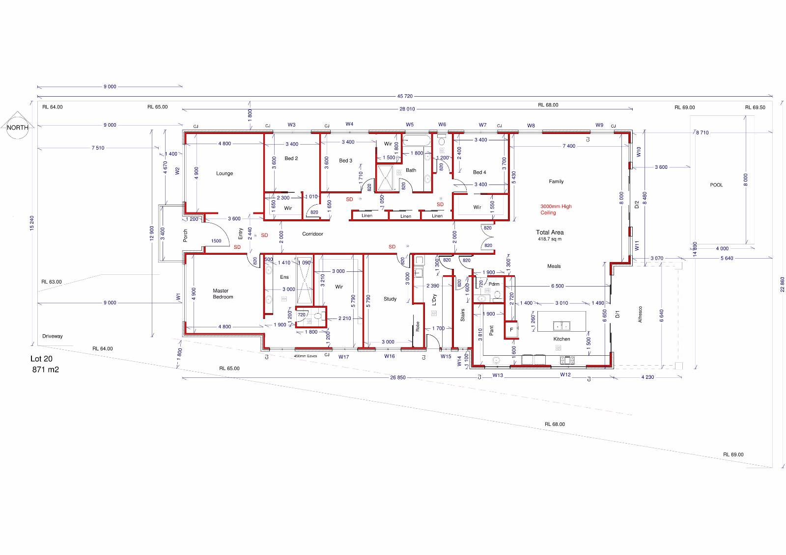 New house floor plan advice please.