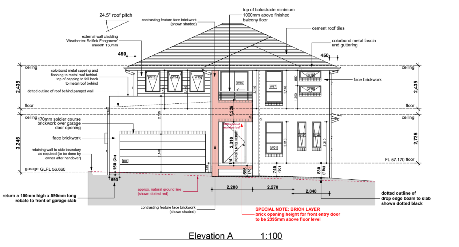 2.7m ceiling height and garage door height... thoughts..?