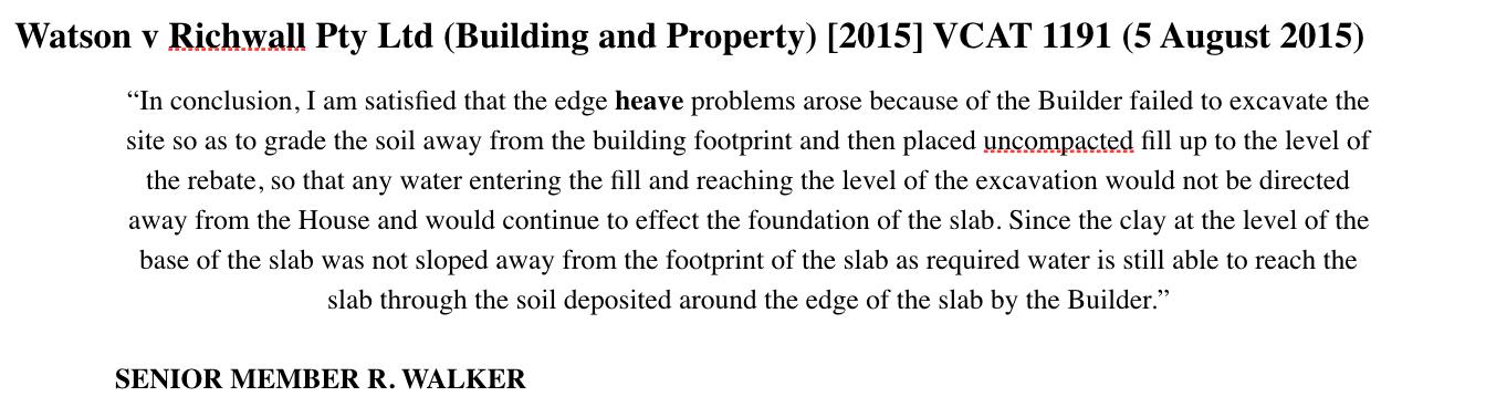 H1 slab for H2 class soil