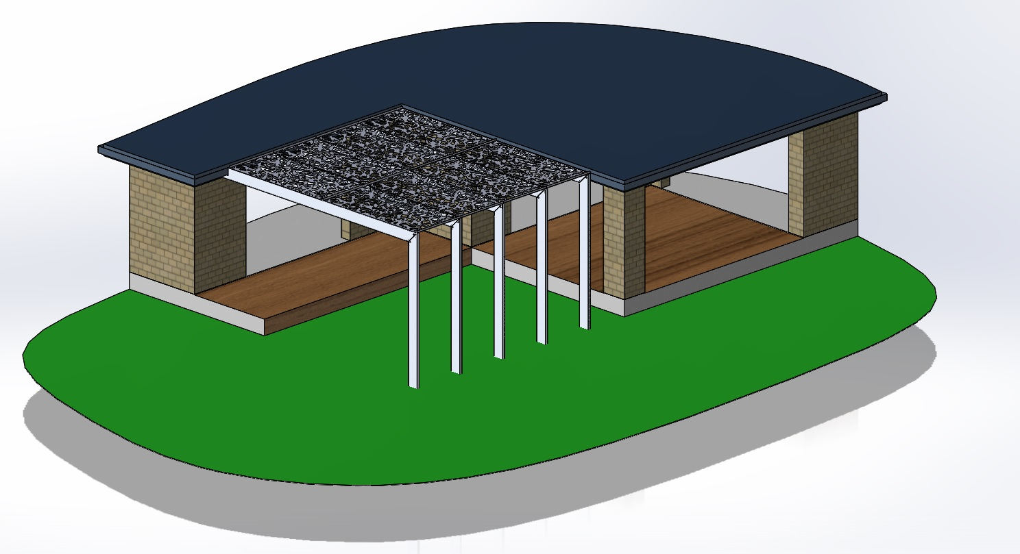 Coral Homes - Noosa 29 (Modified) - Help with pergola design