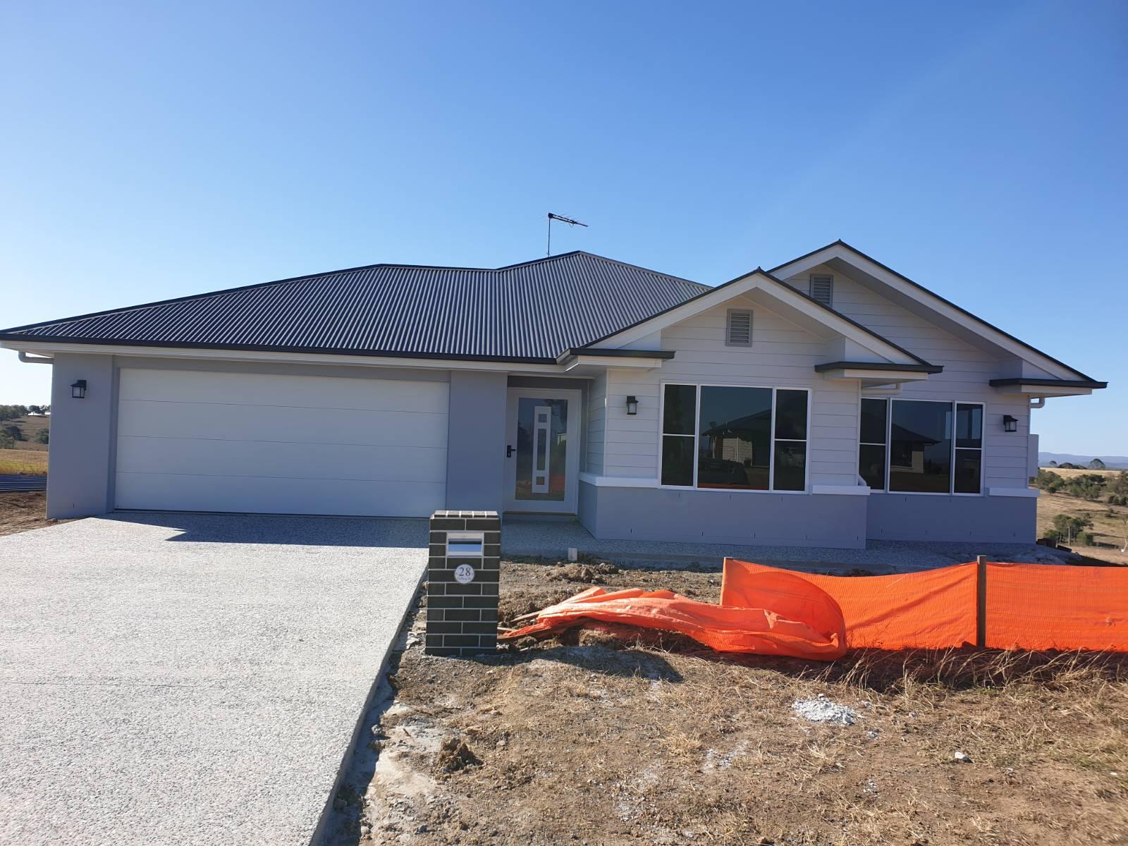 Custom build on acerage in Ipswich QLD