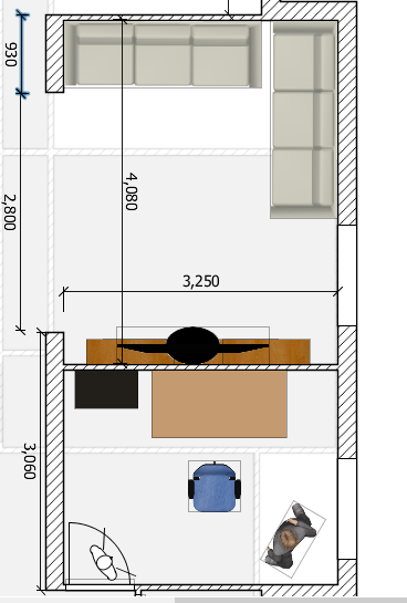 View: Single cavity sliding door which can span 2.8 meters?