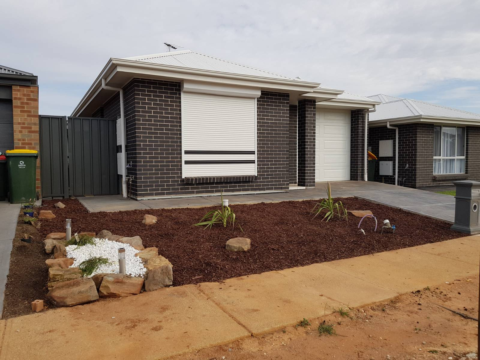 Hickinbotham Torquay Mod - Rear Verandah done