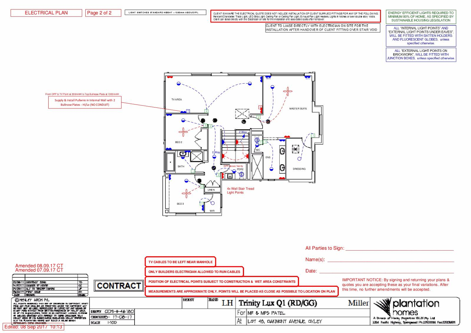 view topic electrical plan advise downlights after handover rh forum homeone com au