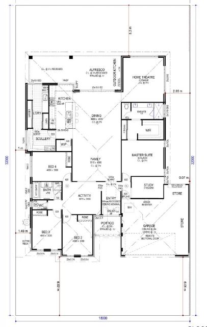 Add a 5th bedroom to this plan