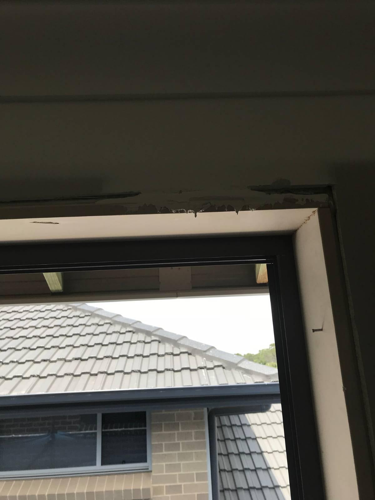 Gaps around windows during build