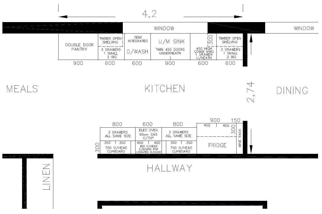 New Kitchen layout help