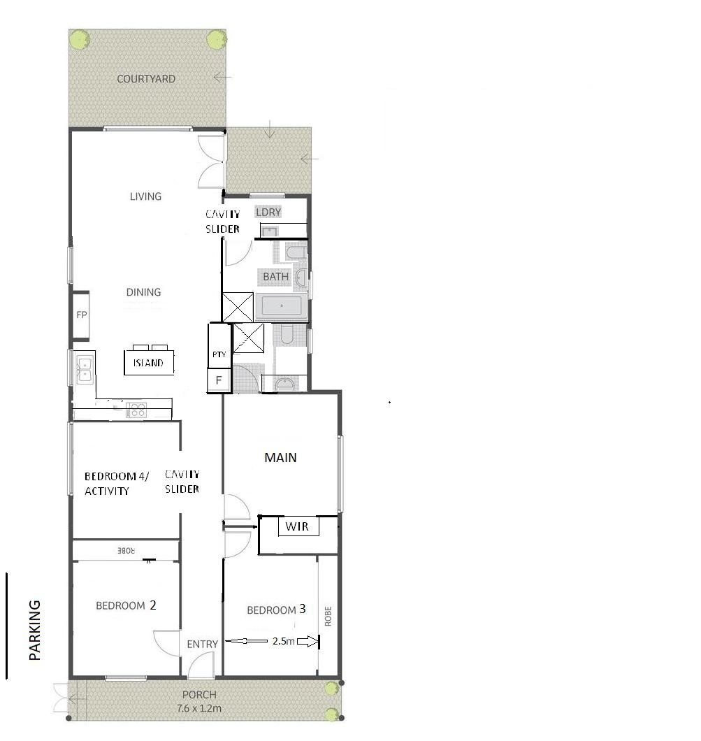 Advice for floor plan - inner city family home