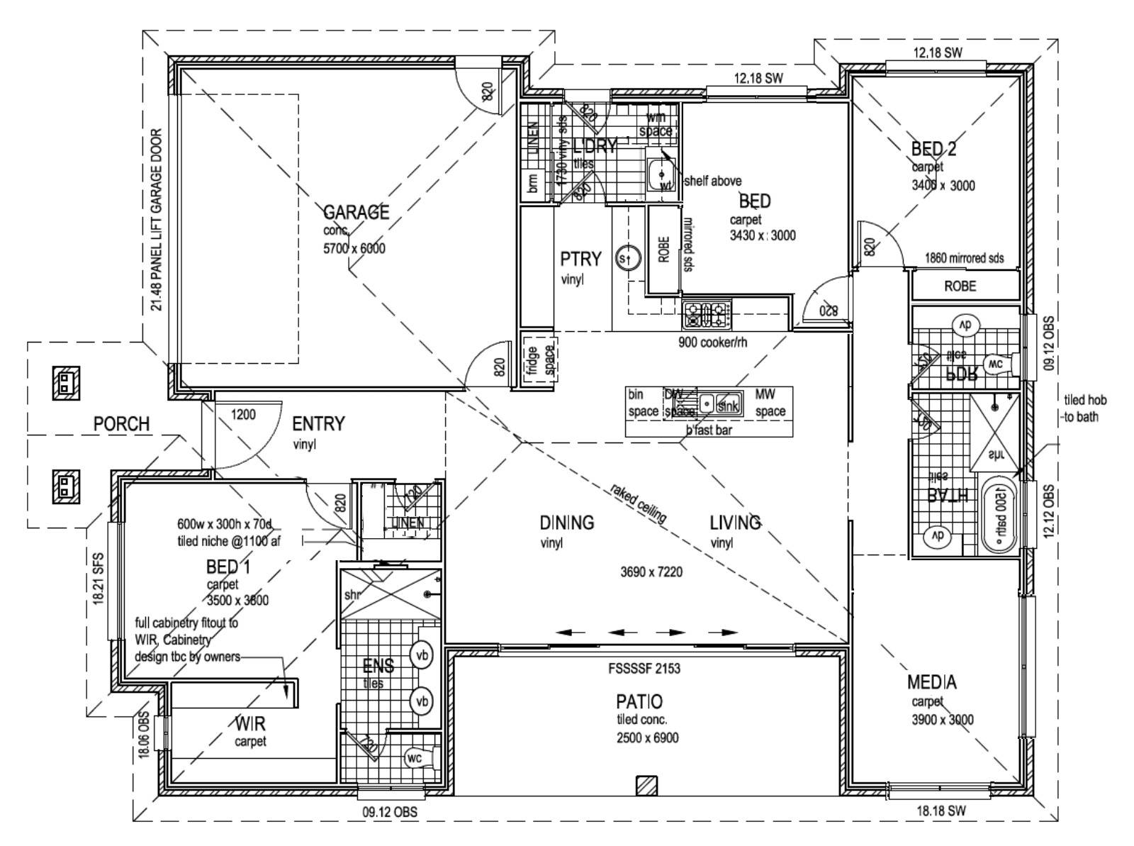 Floor Plan - Advice for Square Block