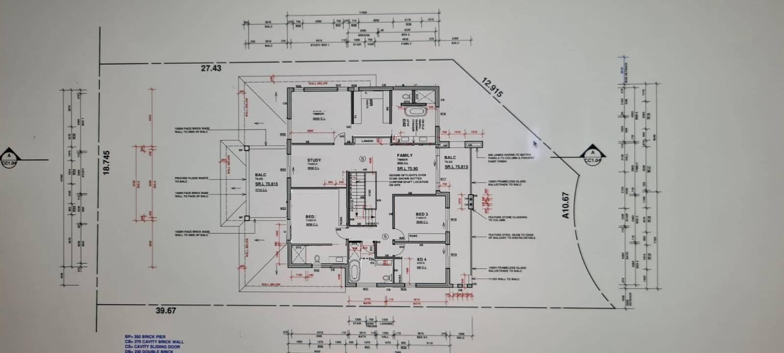 Help with master bedroom layout