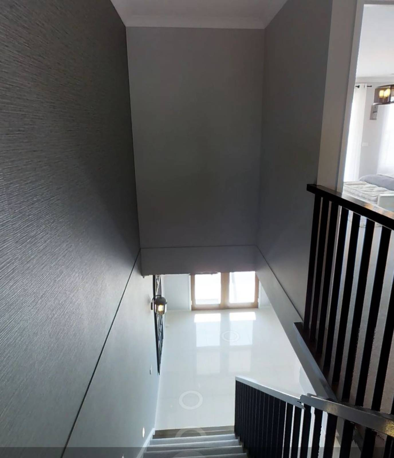 Cost to install chandelier in stairwell