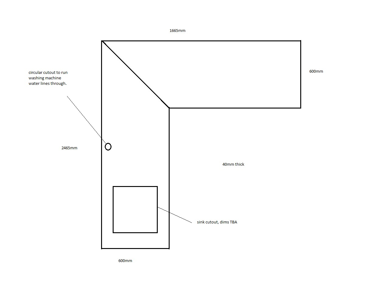looking for a joinery that will cut to size and install