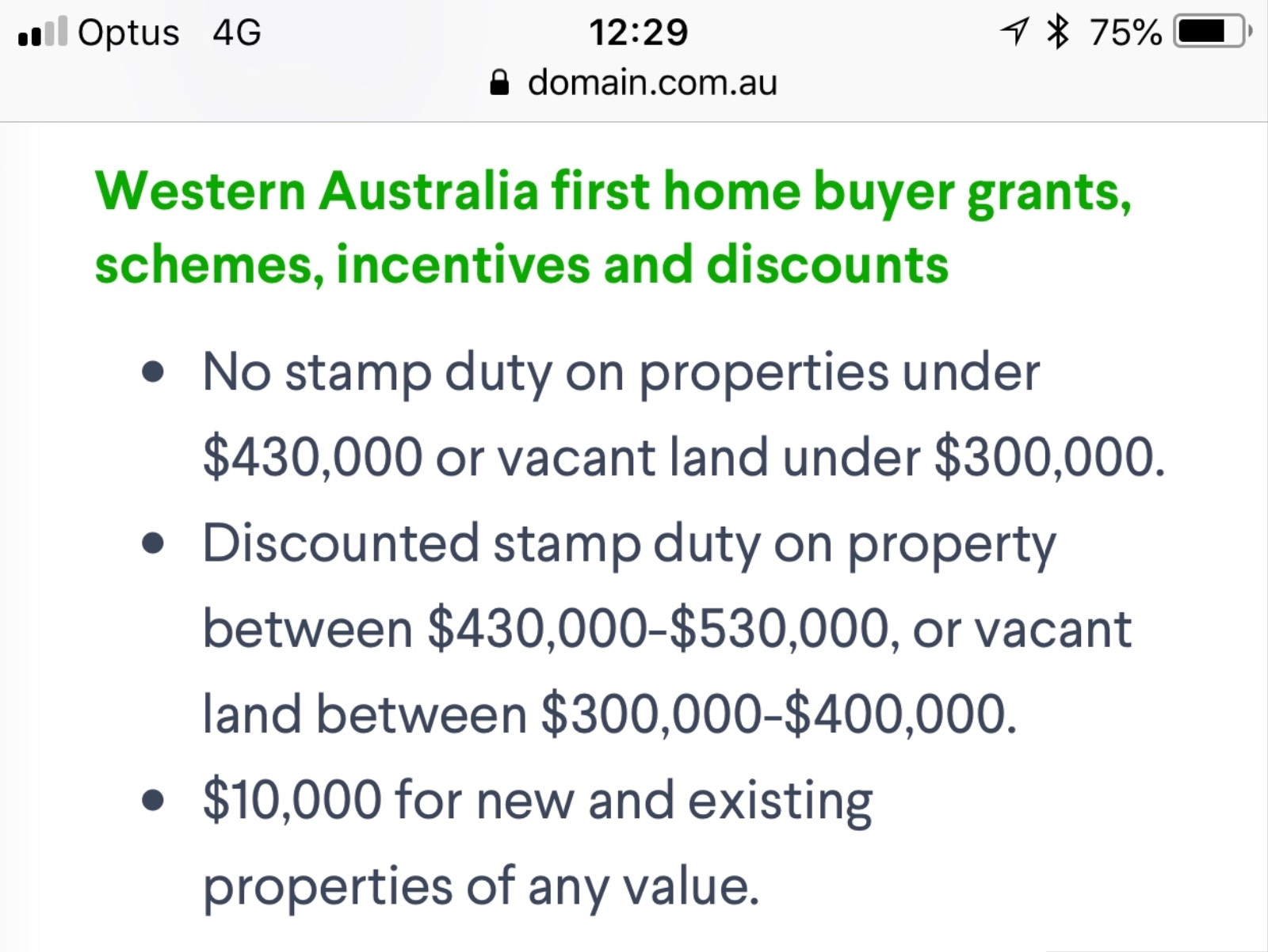 Stamp duty question