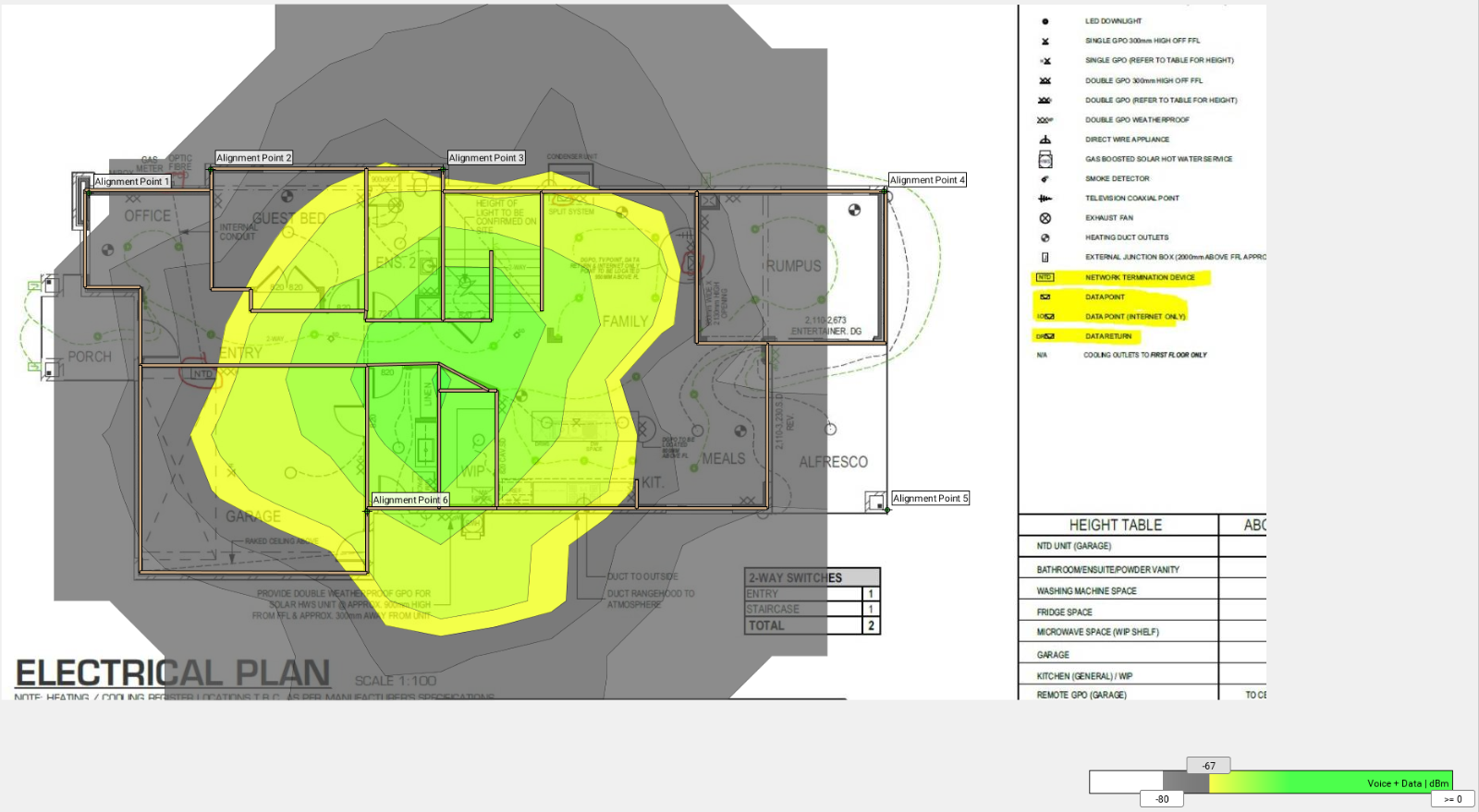 View Topic Nbn Installation Electrical Plan Home Renovation 3 Way Switch Animation Ground Floor Showing Wifi Penetrationground Penetration From Fist Ap Ac Prolike Add A Comment Pin To Ideaboard Share
