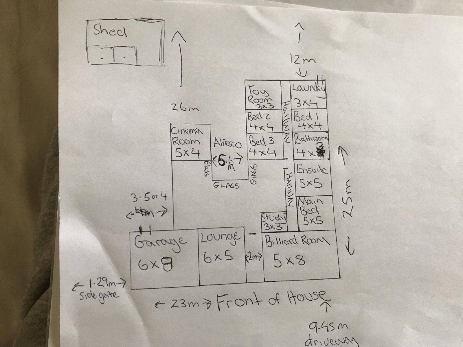 Our dream home , feedback please