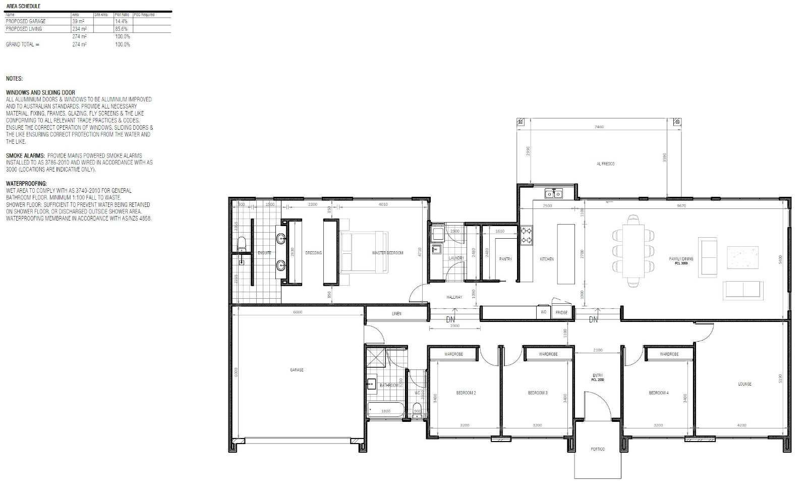 View: 11 acre rural build - house plan