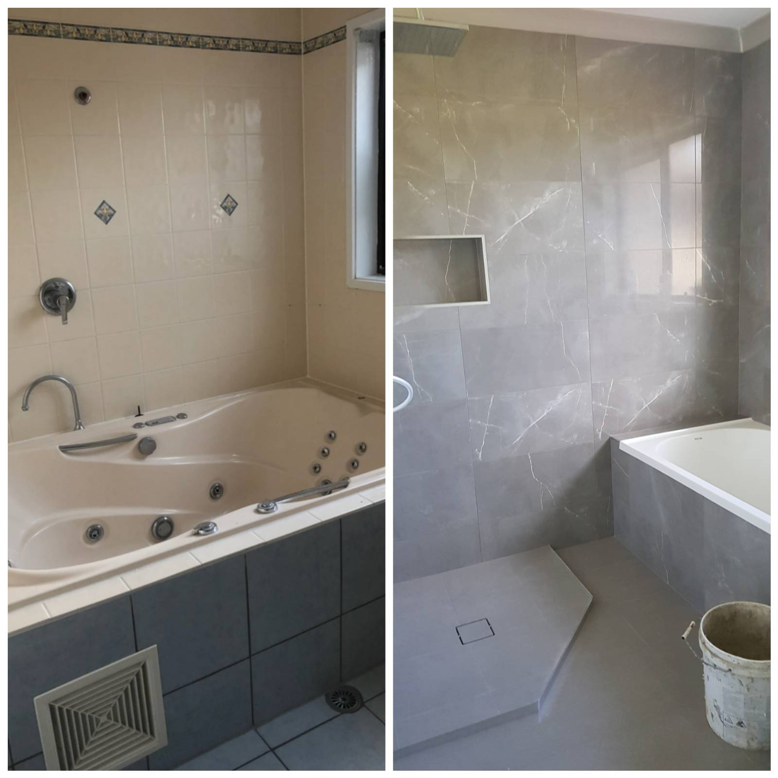 View: Our Bathroom Before and After