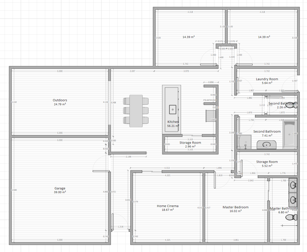 Custom House Plan - Wanting Feedback and Suggestions