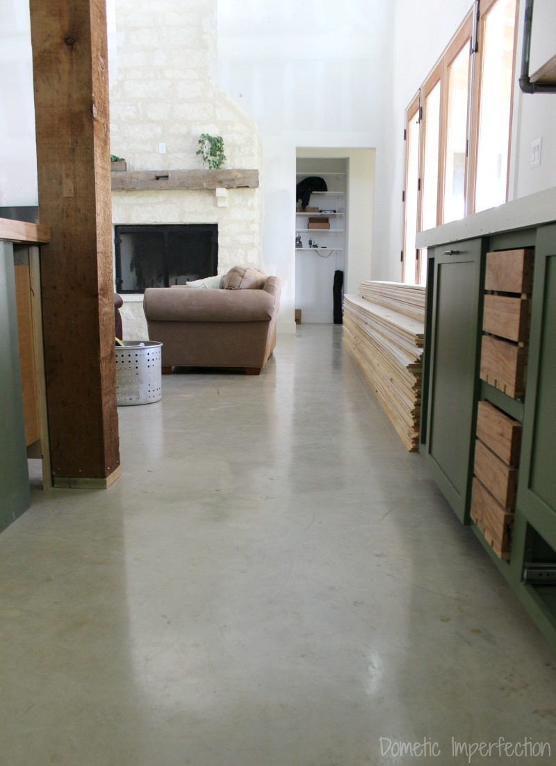 View topic concrete floor seal or put tile home - Concrete floors in house ...