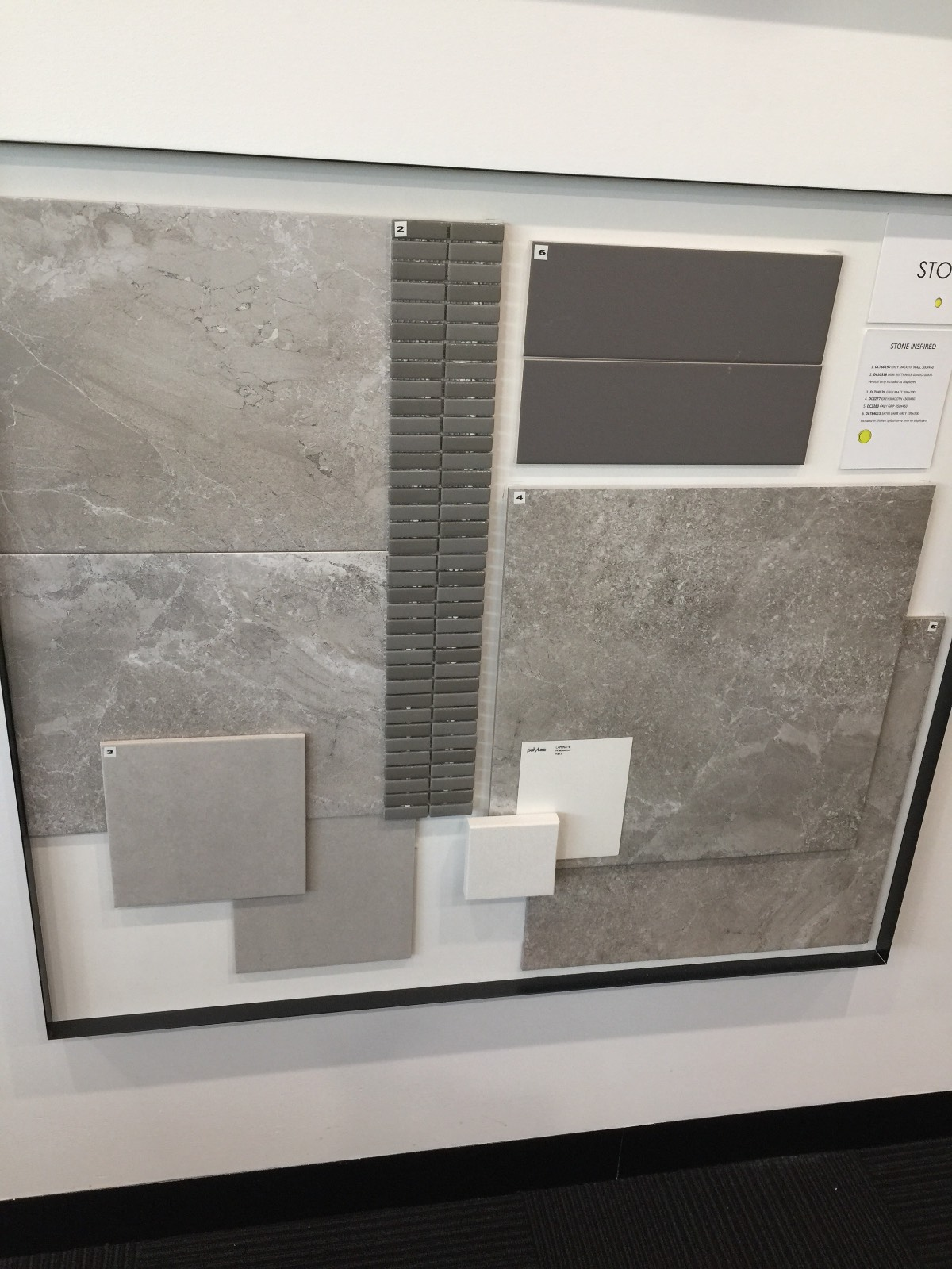 Stone inspired tiles - Di lorenzo (Wisdom homes)