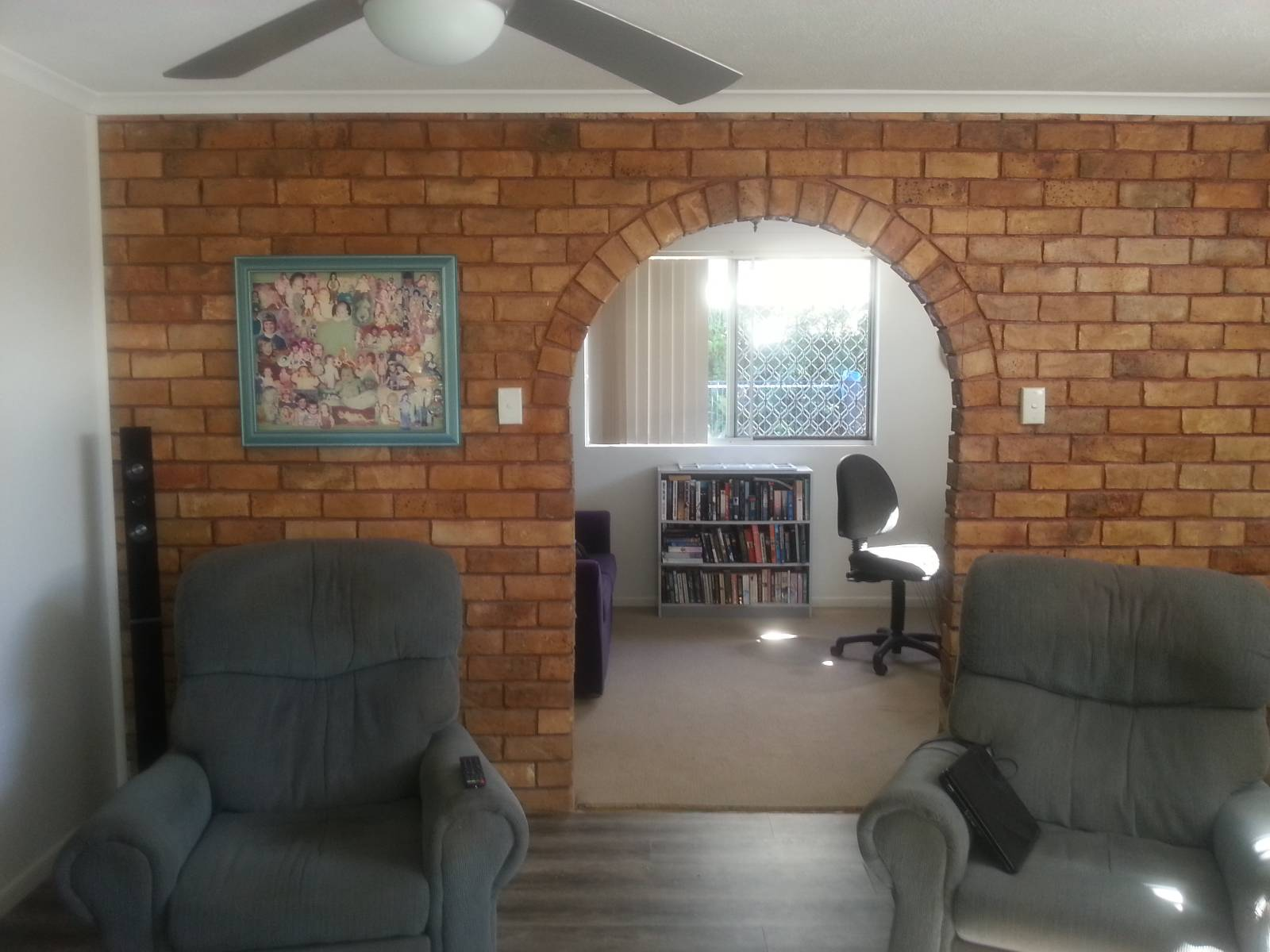 Brick internal wall