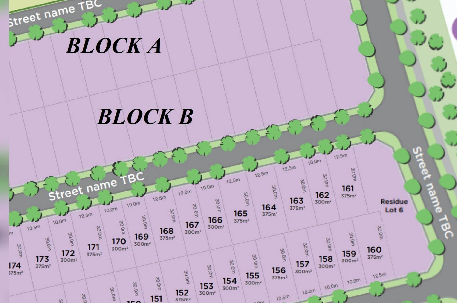 Which side of block will receive more sunlight