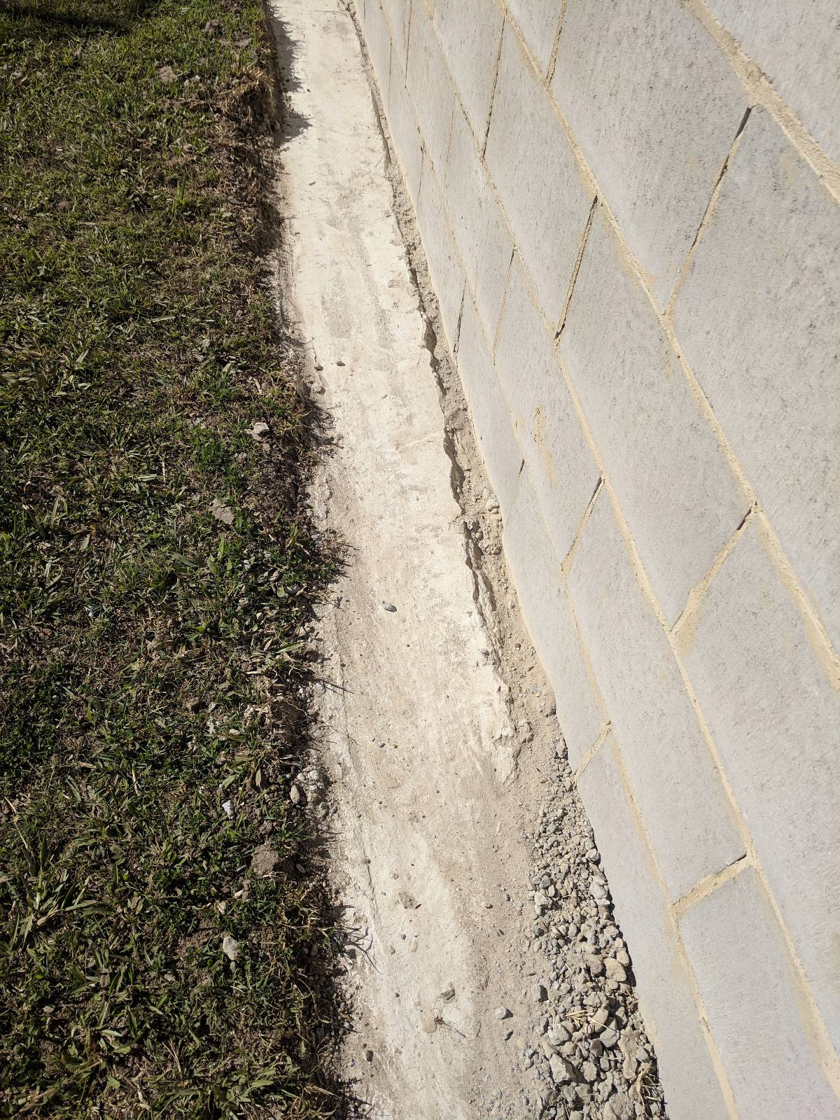 Lay concrete over concrete