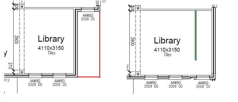 New build - cost to extend the room size