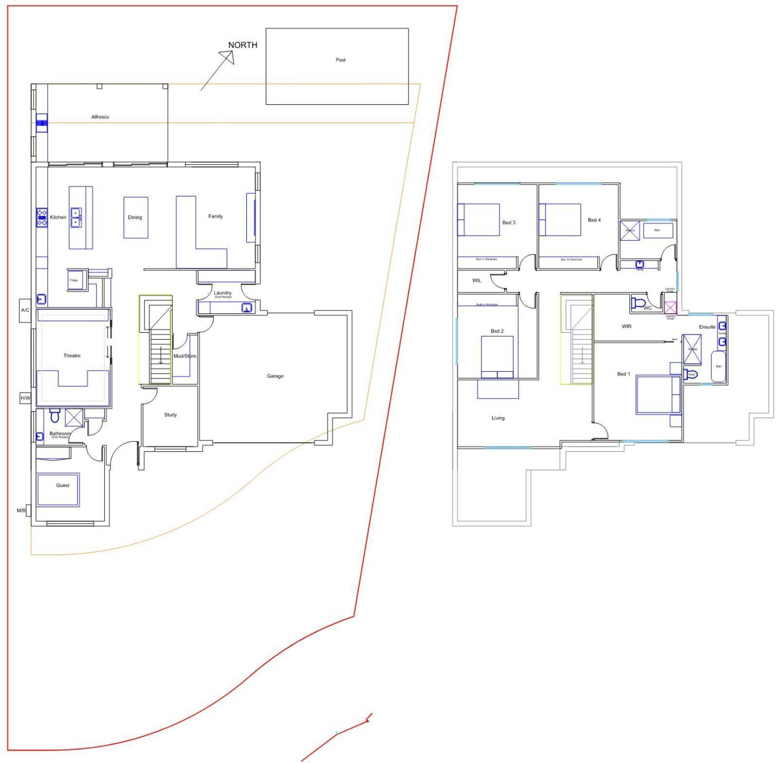 Floor plan feedback.